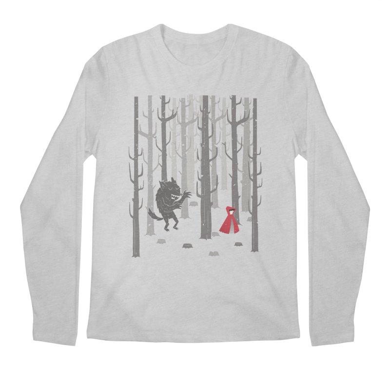 Beware of the wolf Men's Longsleeve T-Shirt by Rocket Artist Shop