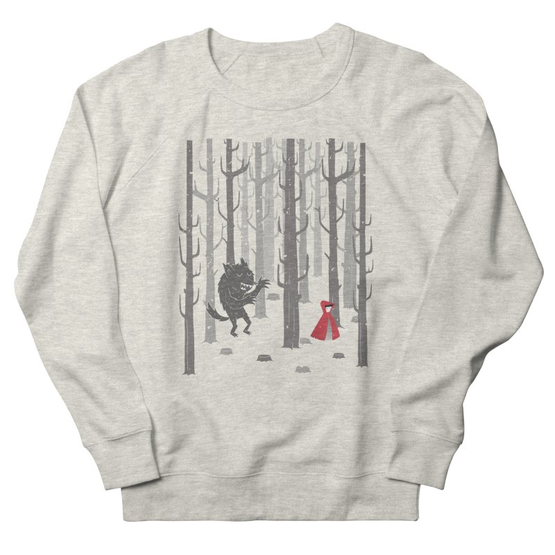 Beware of the wolf Women's Sweatshirt by Rocket Artist Shop