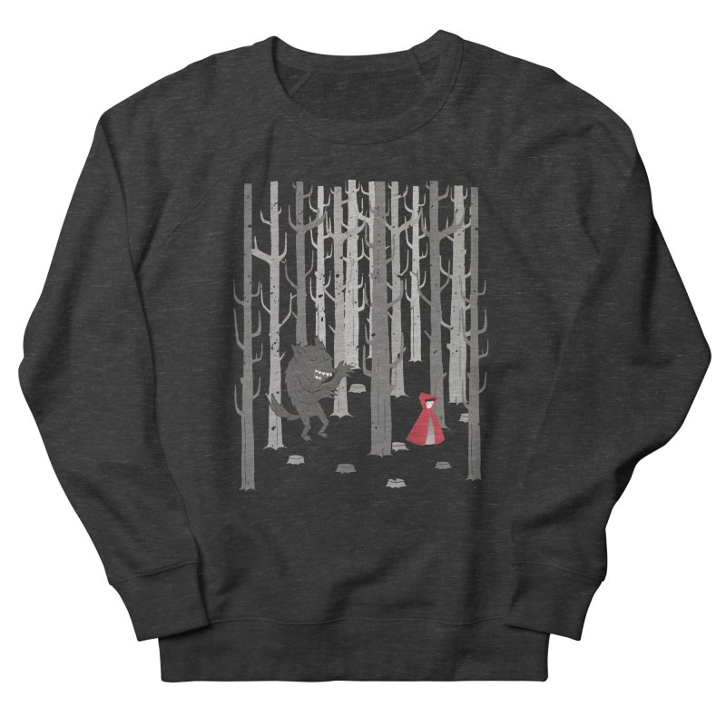 Beware of the wolf Men's Sweatshirt by Rocket Artist Shop