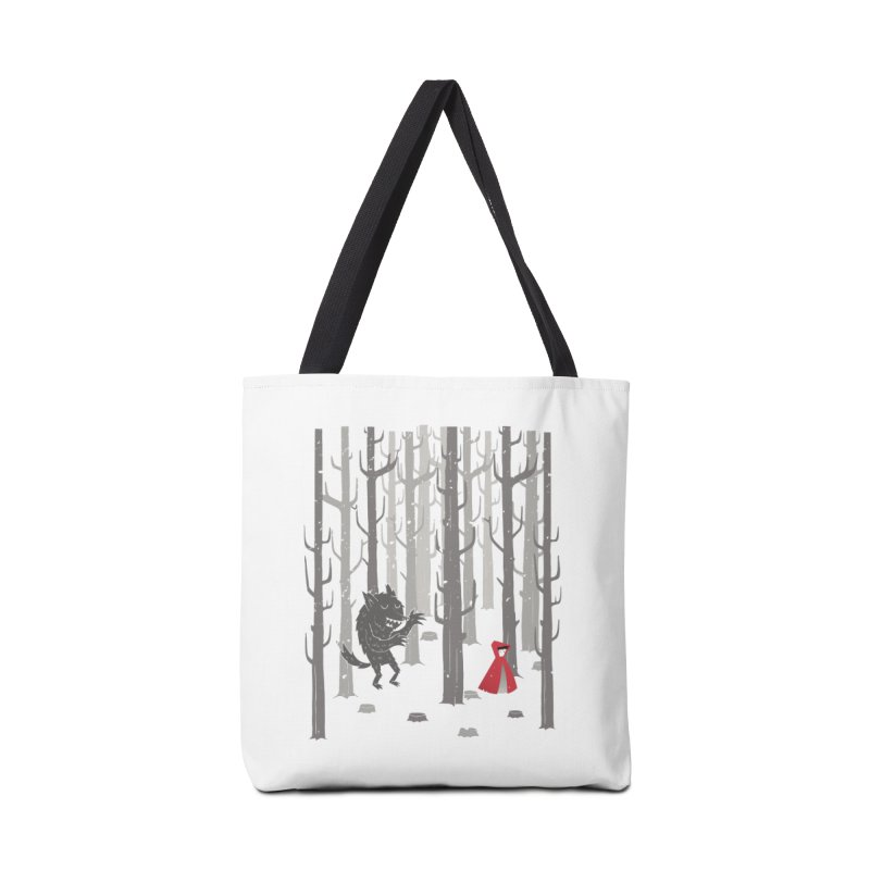 Beware of the wolf Accessories Bag by Rocket Artist Shop