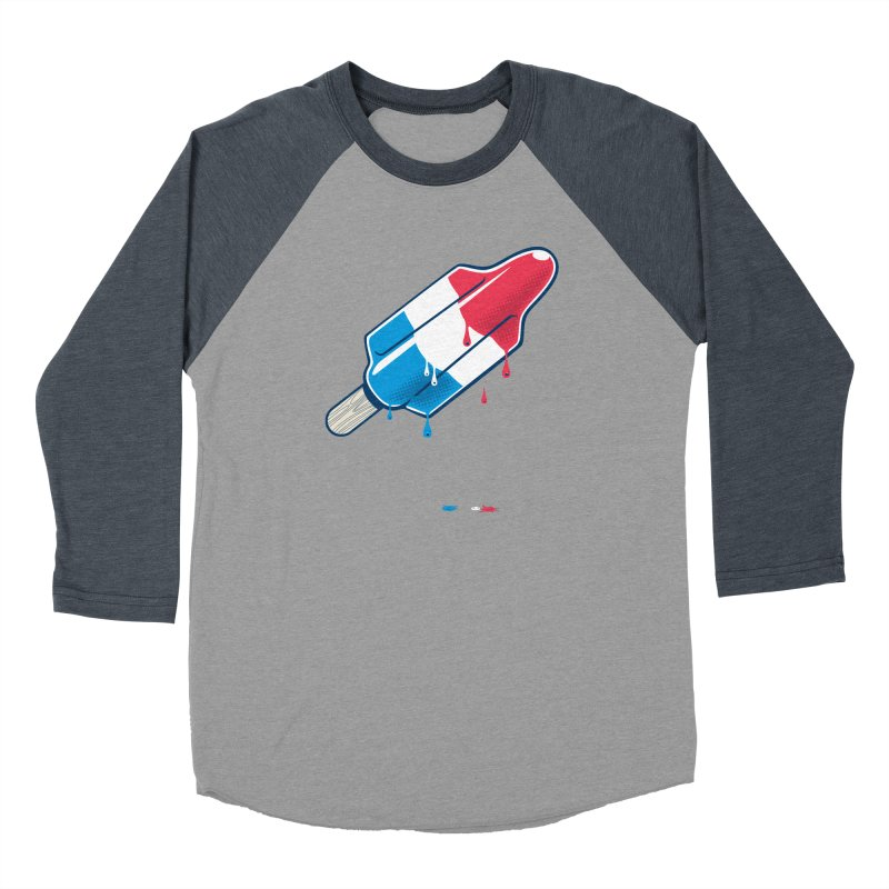 Drops Women's Baseball Triblend Longsleeve T-Shirt by Rocket Artist Shop