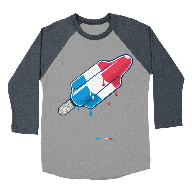 Drops Women's Baseball Triblend T-Shirt by Rocket Artist Shop