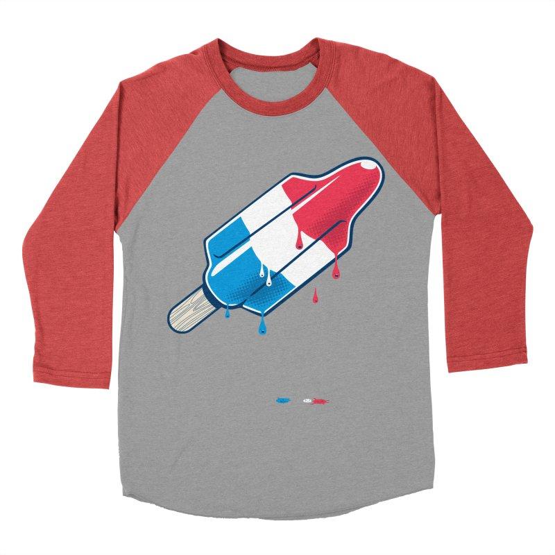 Drops Men's Baseball Triblend T-Shirt by Rocket Artist Shop