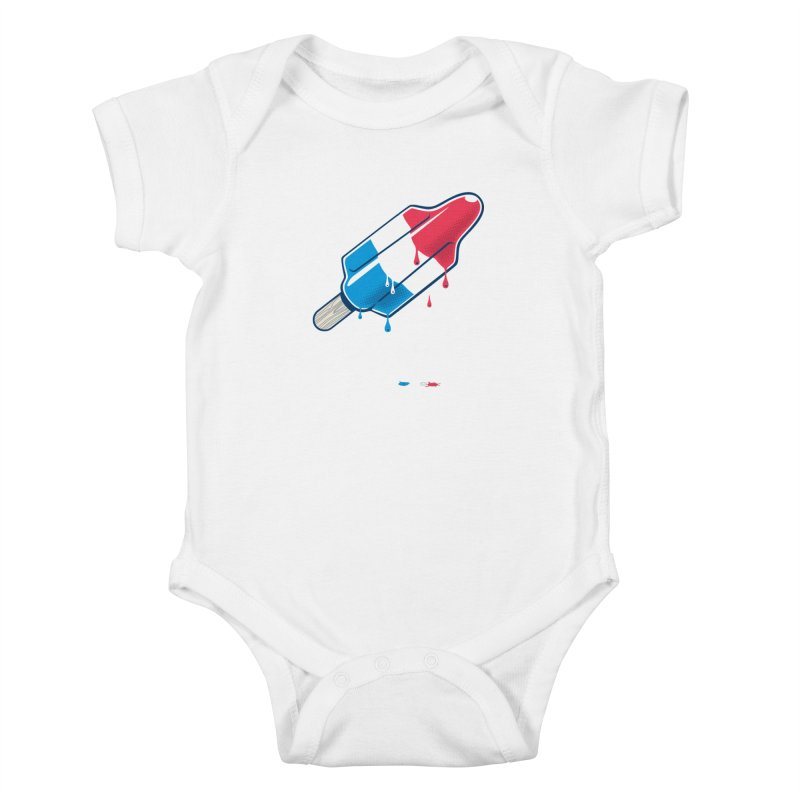Drops Kids Baby Bodysuit by Rocket Artist Shop