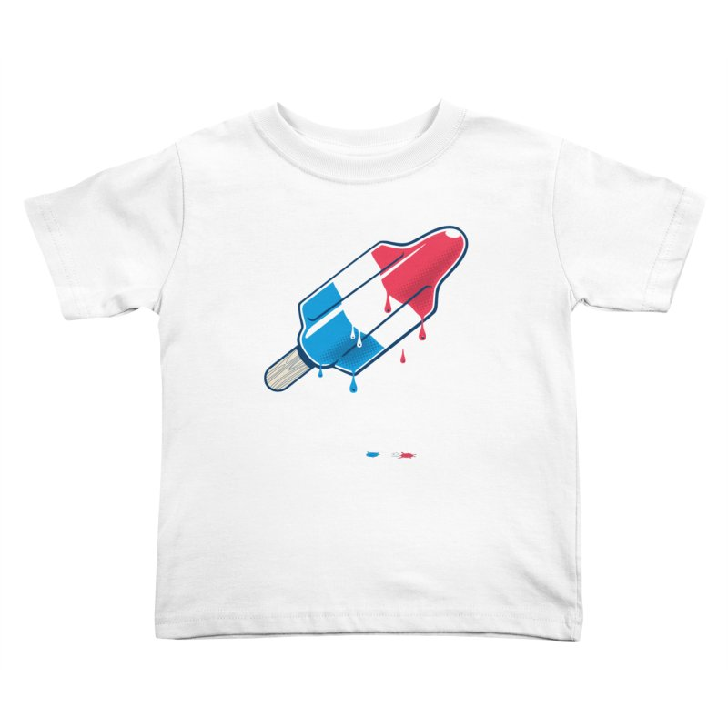Drops Kids Toddler T-Shirt by Rocket Artist Shop