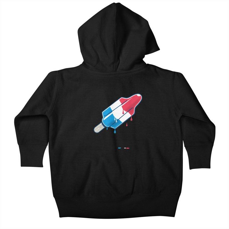 Drops Kids Baby Zip-Up Hoody by Rocket Artist Shop