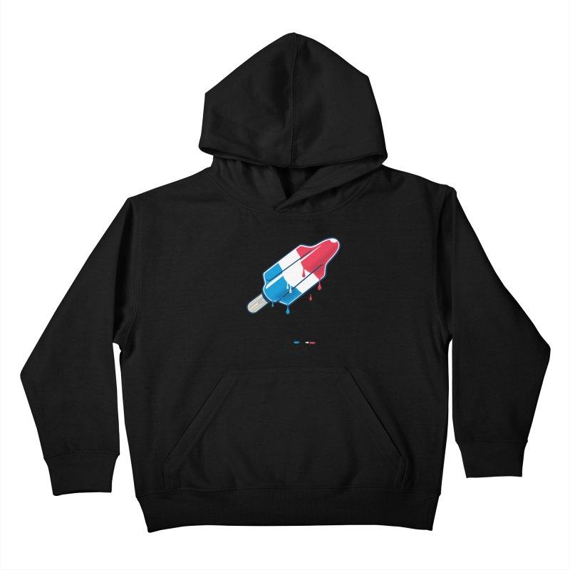 Drops Kids Pullover Hoody by Rocket Artist Shop