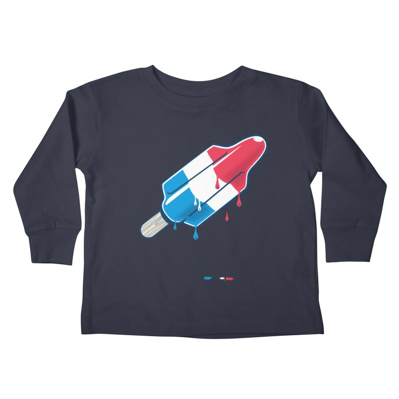 Drops Kids Toddler Longsleeve T-Shirt by Rocket Artist Shop