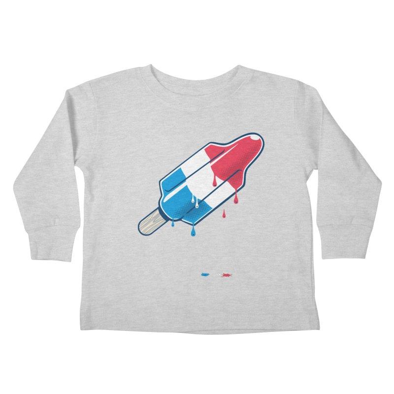 Drops Kids Toddler Longsleeve T-Shirt by Rocket Artist Shop