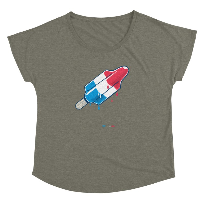Drops Women's Dolman by Rocket Artist Shop