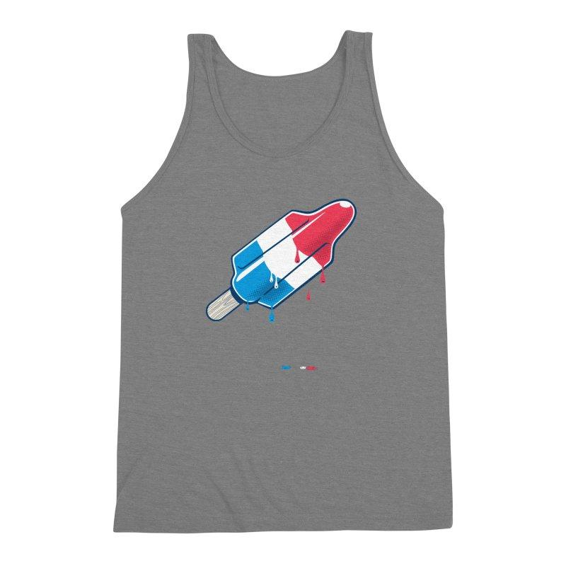 Drops Men's Triblend Tank by Rocket Artist Shop