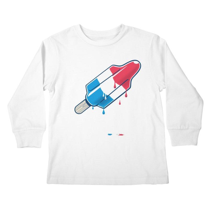 Drops Kids Longsleeve T-Shirt by Rocket Artist Shop