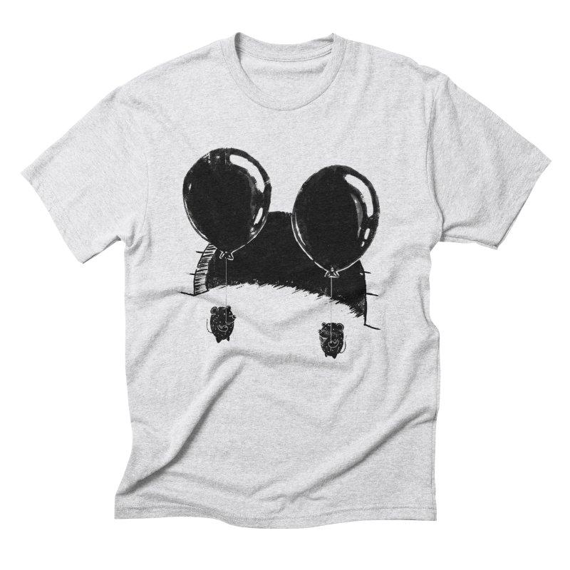 M.M. Men's Triblend T-Shirt by Rocket Artist Shop