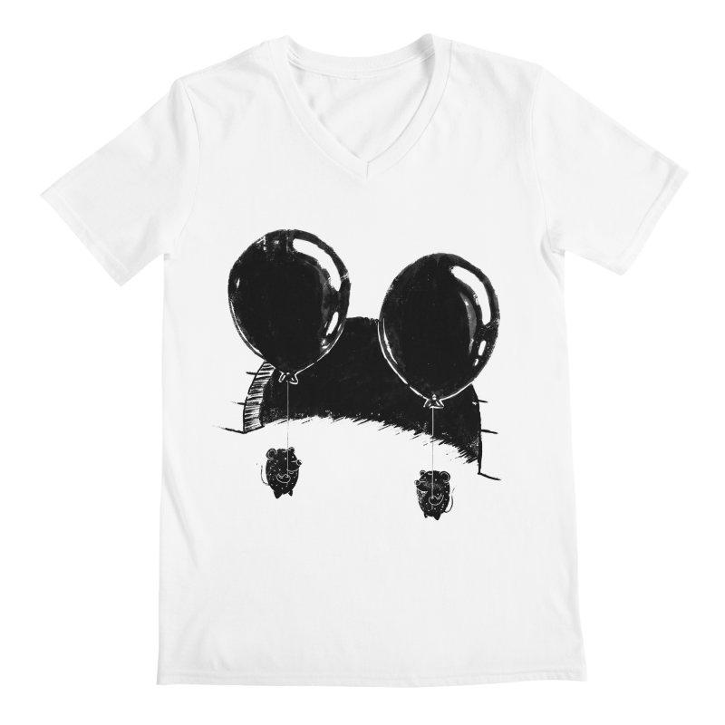M.M. Men's V-Neck by Rocket Artist Shop
