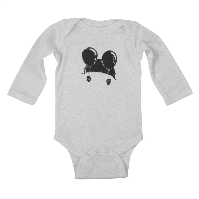 M.M. Kids Baby Longsleeve Bodysuit by Rocket Artist Shop