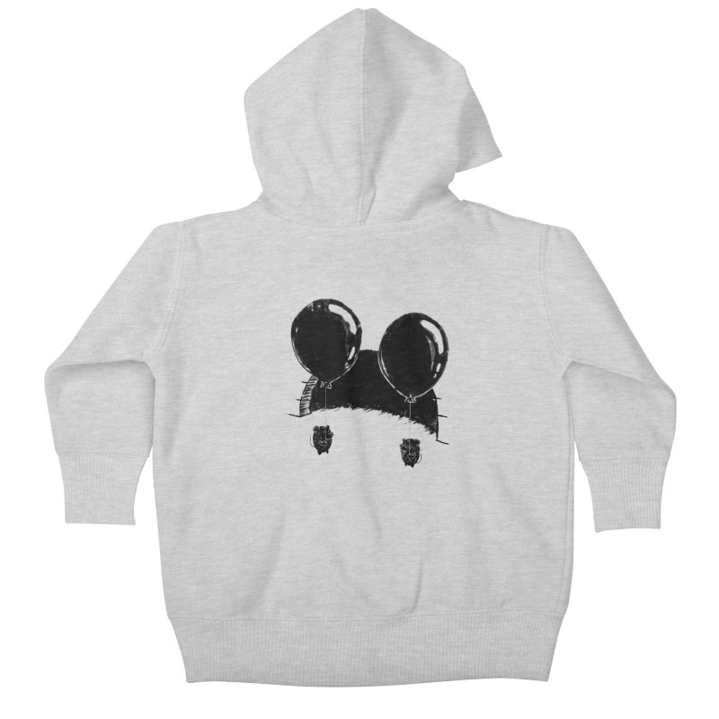 M.M. Kids Baby Zip-Up Hoody by Rocket Artist Shop