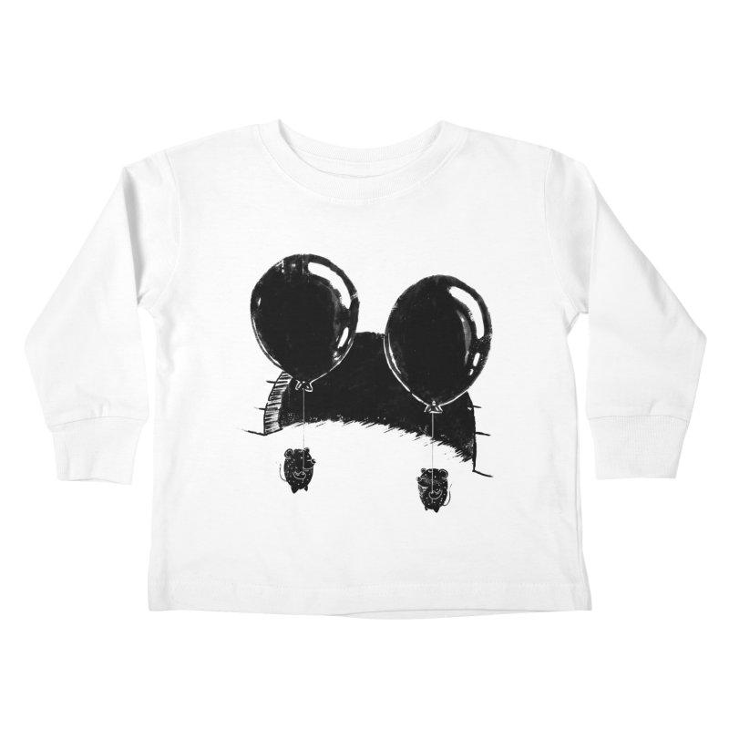 M.M. Kids Toddler Longsleeve T-Shirt by Rocket Artist Shop
