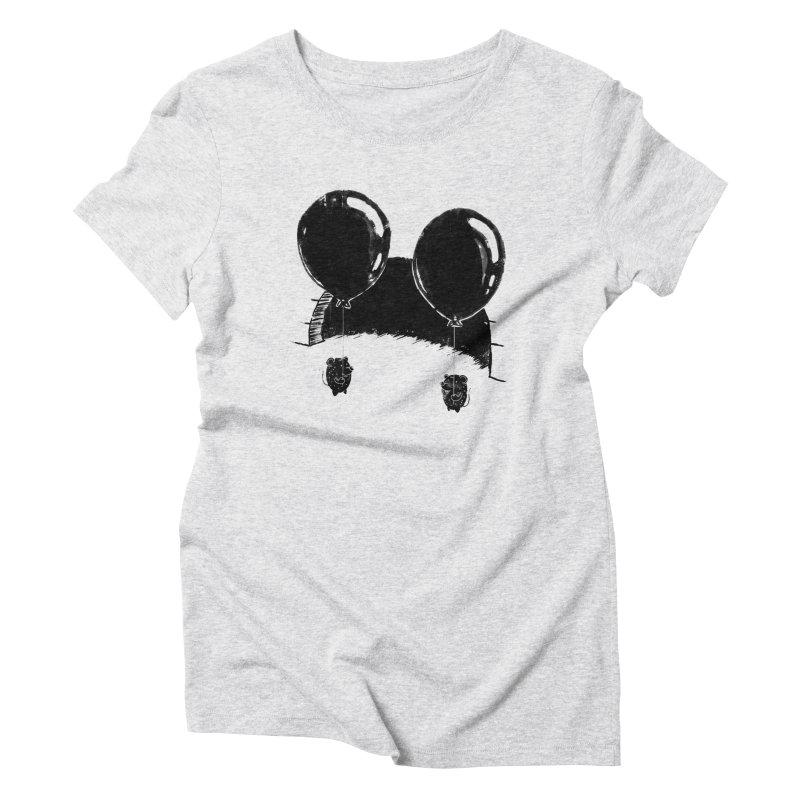 M.M. Women's Triblend T-shirt by Rocket Artist Shop