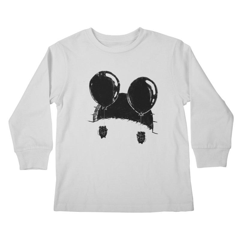 M.M. Kids Longsleeve T-Shirt by Rocket Artist Shop