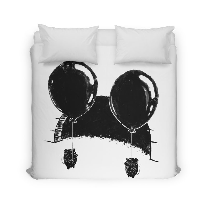 M.M. Home Duvet by Rocket Artist Shop