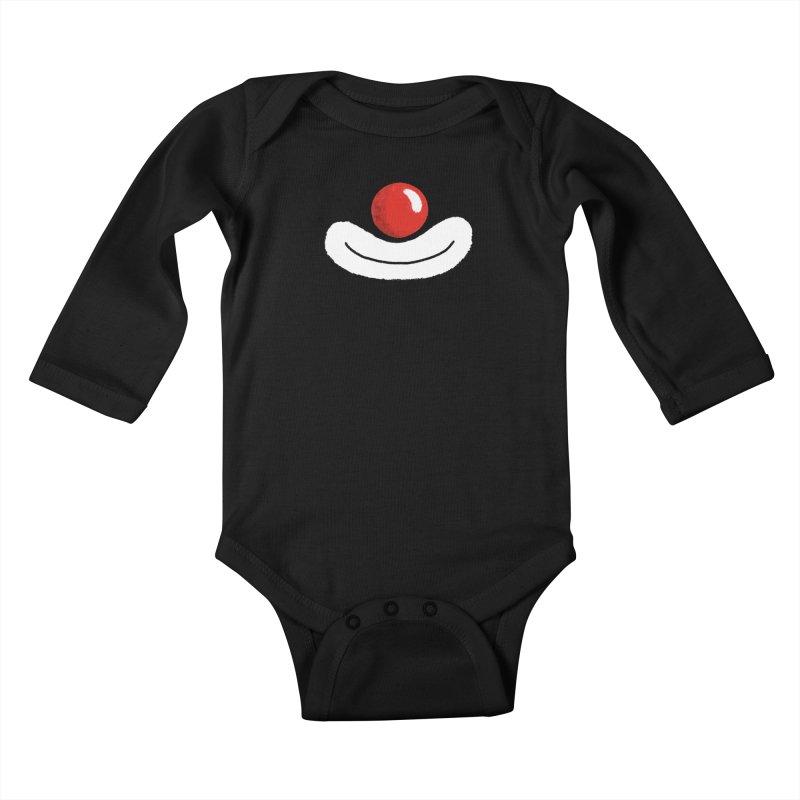 Keep Smile Kids Baby Longsleeve Bodysuit by Rocket Artist Shop