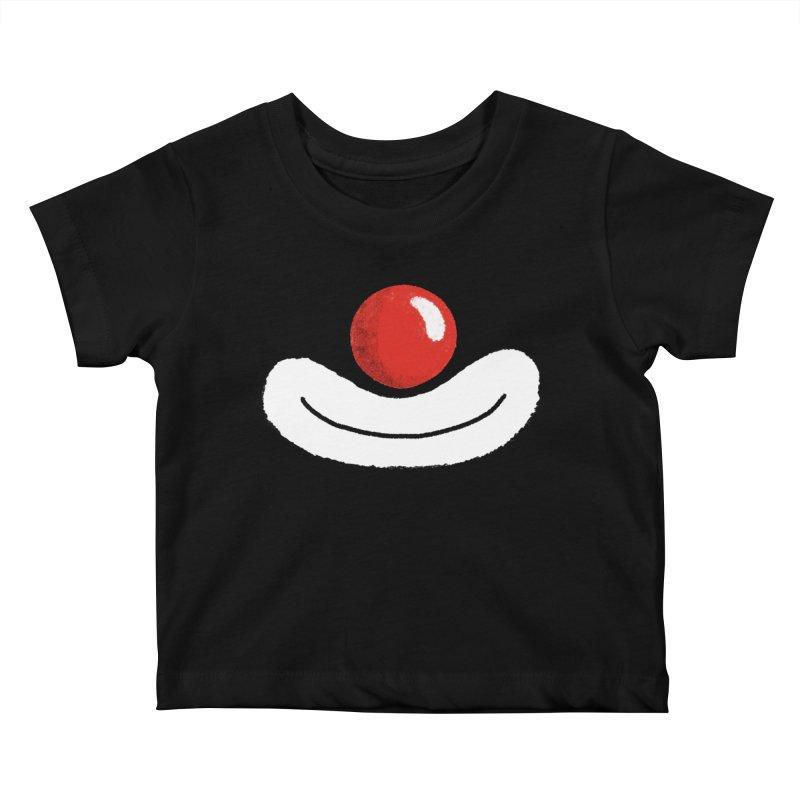 Keep Smile Kids Baby T-Shirt by Rocket Artist Shop