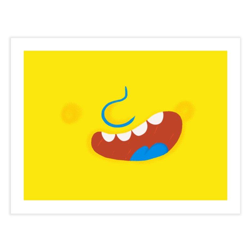 Happy Mood Home Fine Art Print by Rocket Artist Shop