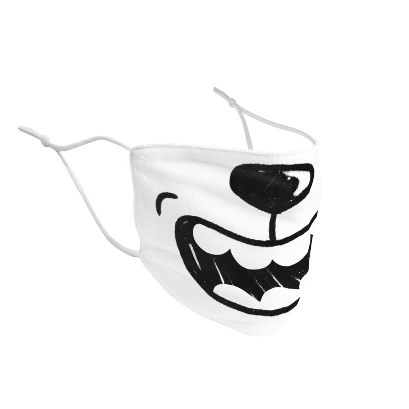 Angry Dog Accessories Face Mask by Rocket Artist Shop