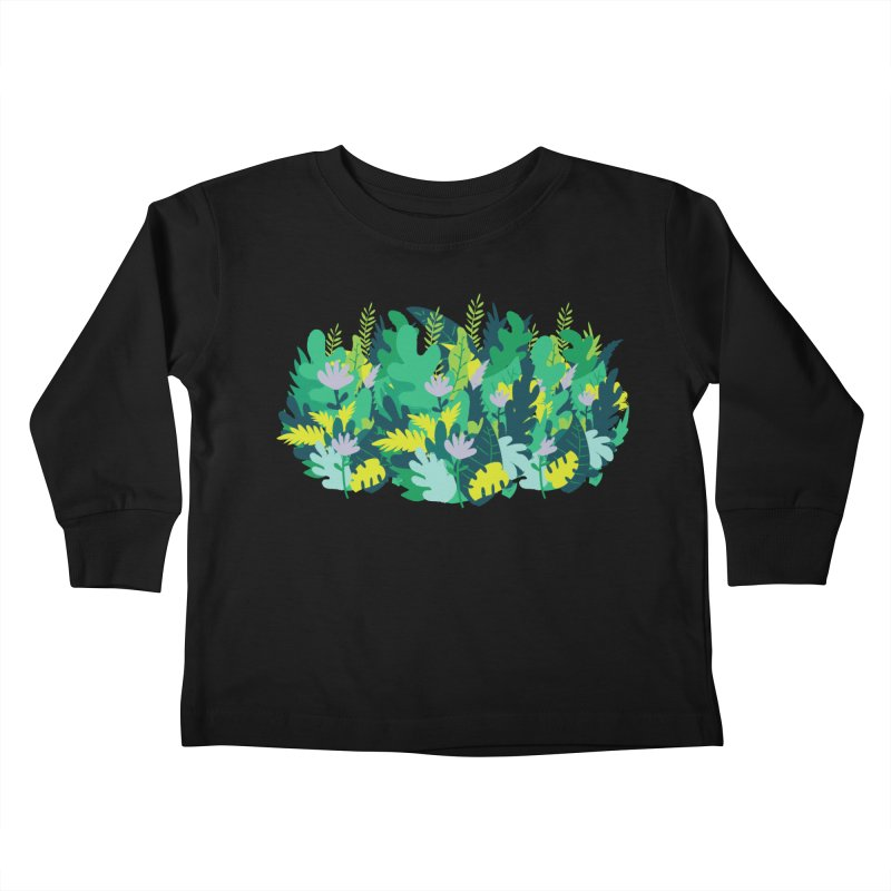 IN THE JUNGLE Kids Toddler Longsleeve T-Shirt by Rocket Artist Shop