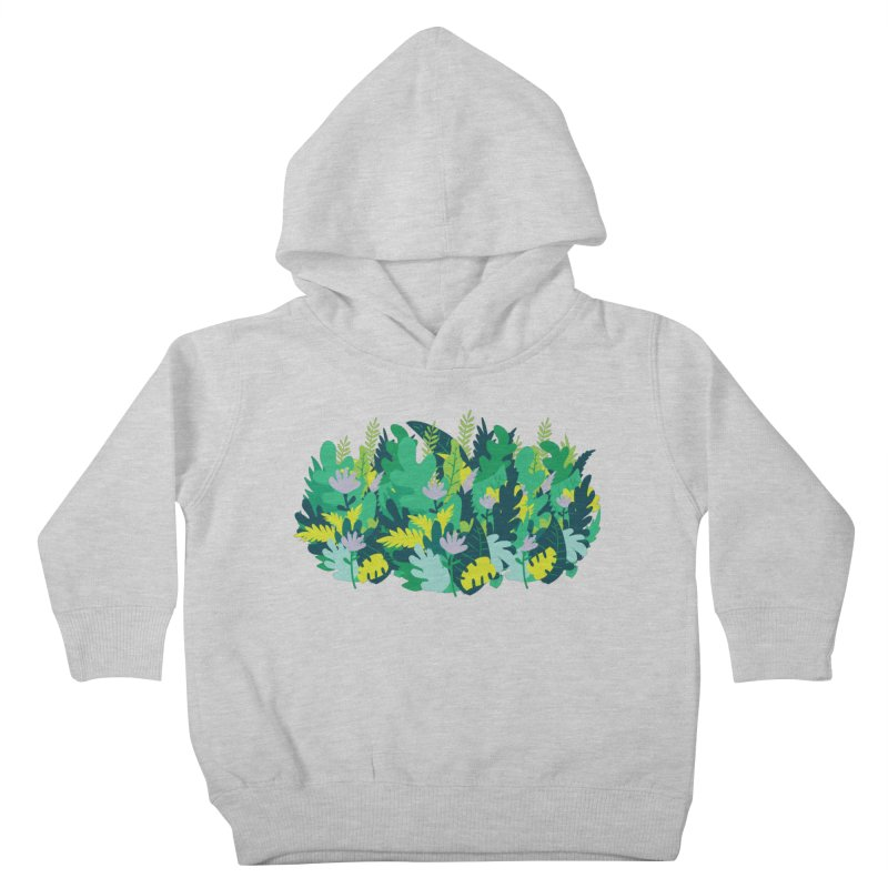 IN THE JUNGLE Kids Toddler Pullover Hoody by Rocket Artist Shop