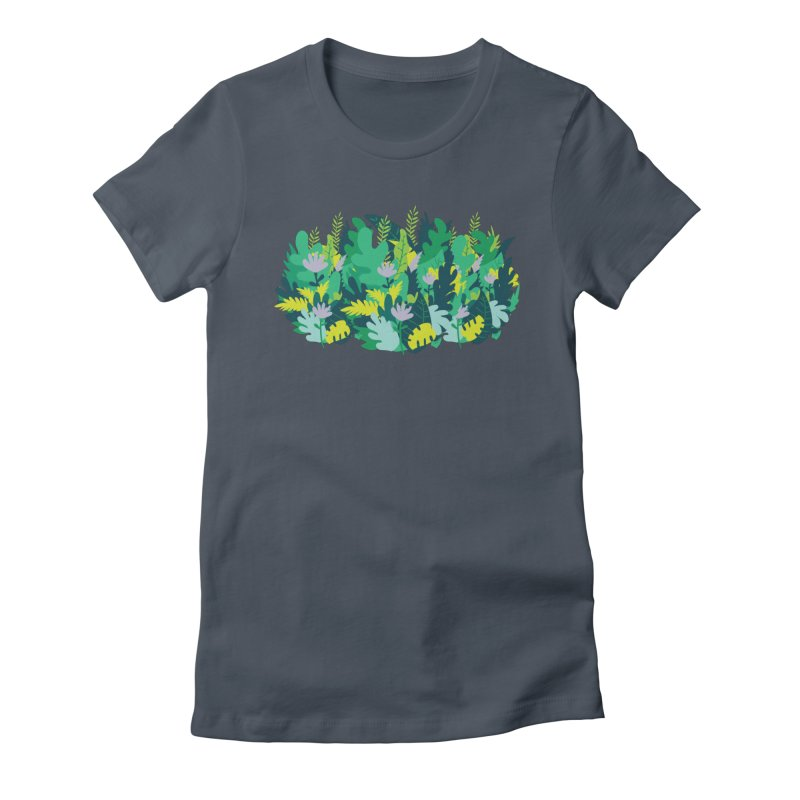 IN THE JUNGLE Women's T-Shirt by Rocket Artist Shop