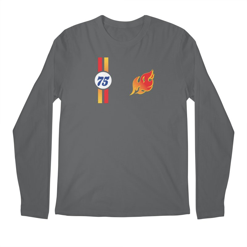 ON FIRE Men's Longsleeve T-Shirt by Rocket Artist Shop