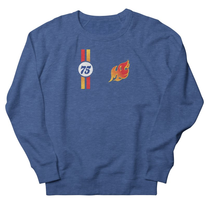ON FIRE Men's Sweatshirt by Rocket Artist Shop