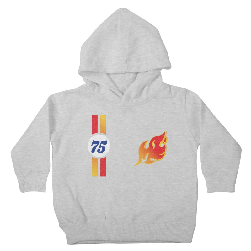 ON FIRE Kids Toddler Pullover Hoody by Rocket Artist Shop