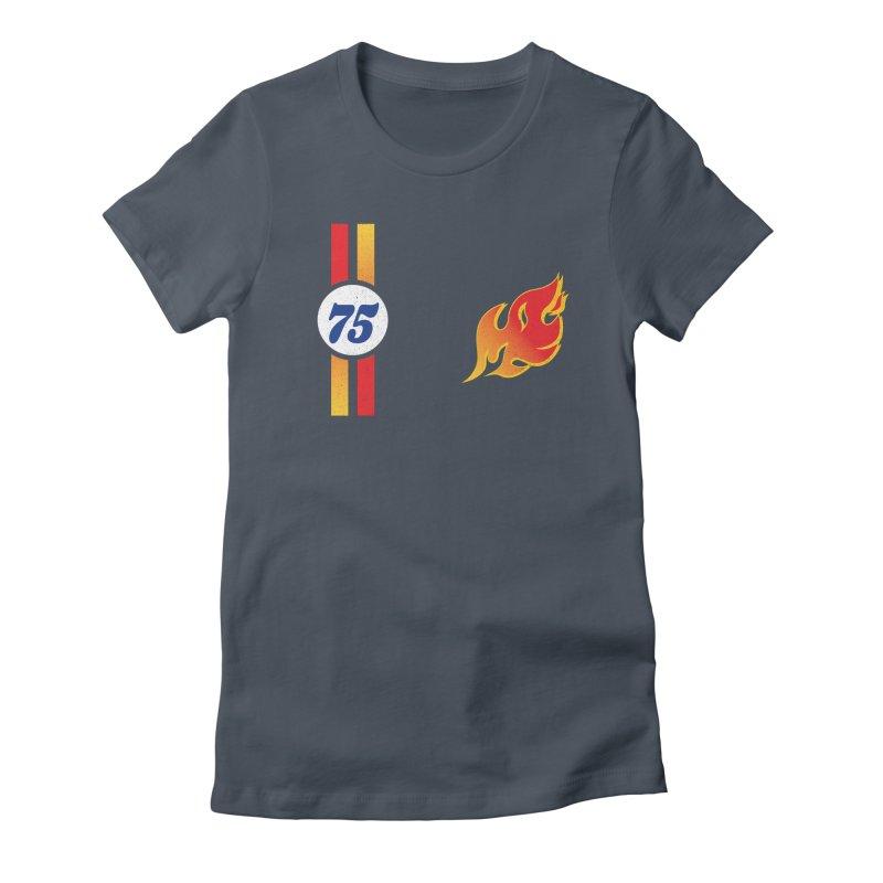 ON FIRE Women's T-Shirt by Rocket Artist Shop