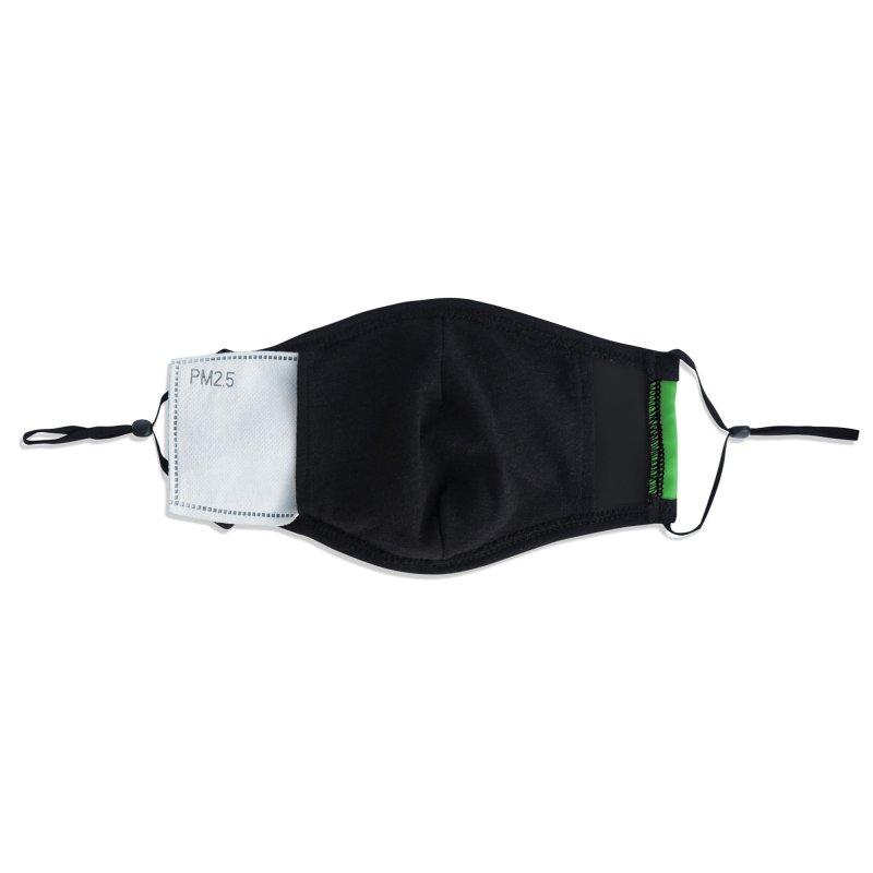 crocosmile Accessories Face Mask by Rocket Artist Shop