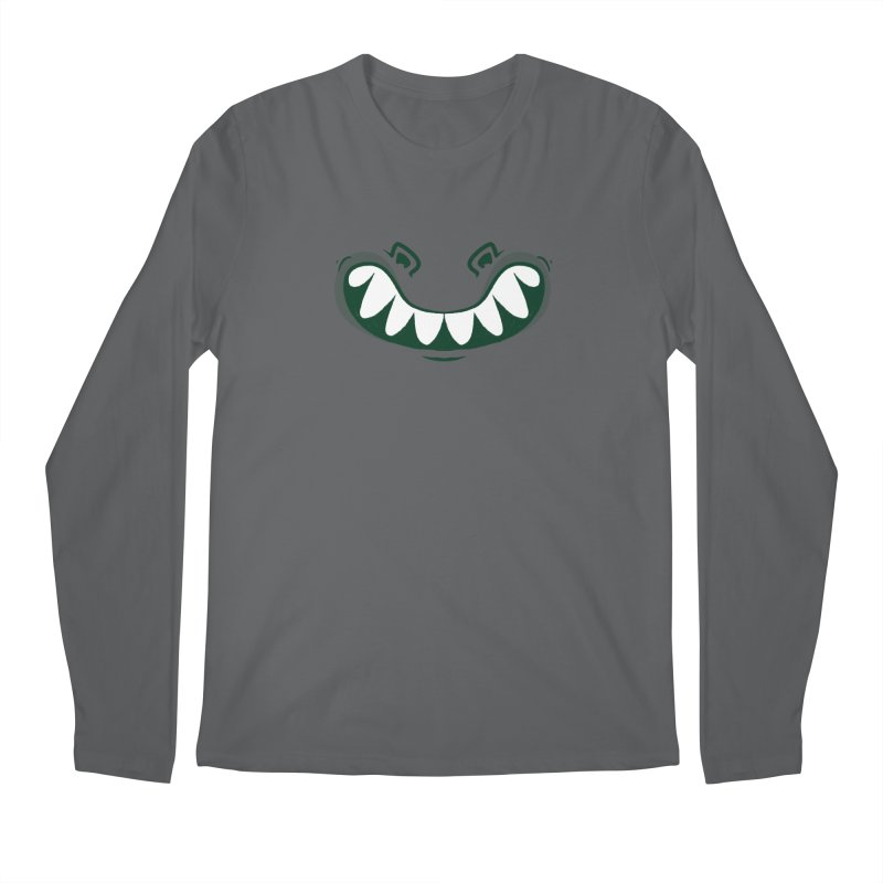 crocosmile Men's Longsleeve T-Shirt by Rocket Artist Shop