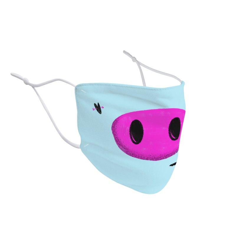 Piggy Accessories Face Mask by Rocket Artist Shop