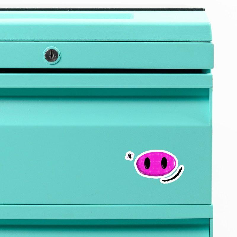 Piggy Accessories Magnet by Rocket Artist Shop