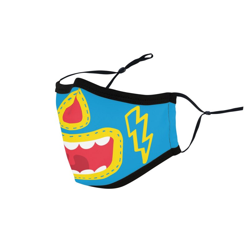LUCHA Accessories Face Mask by Rocket Artist Shop
