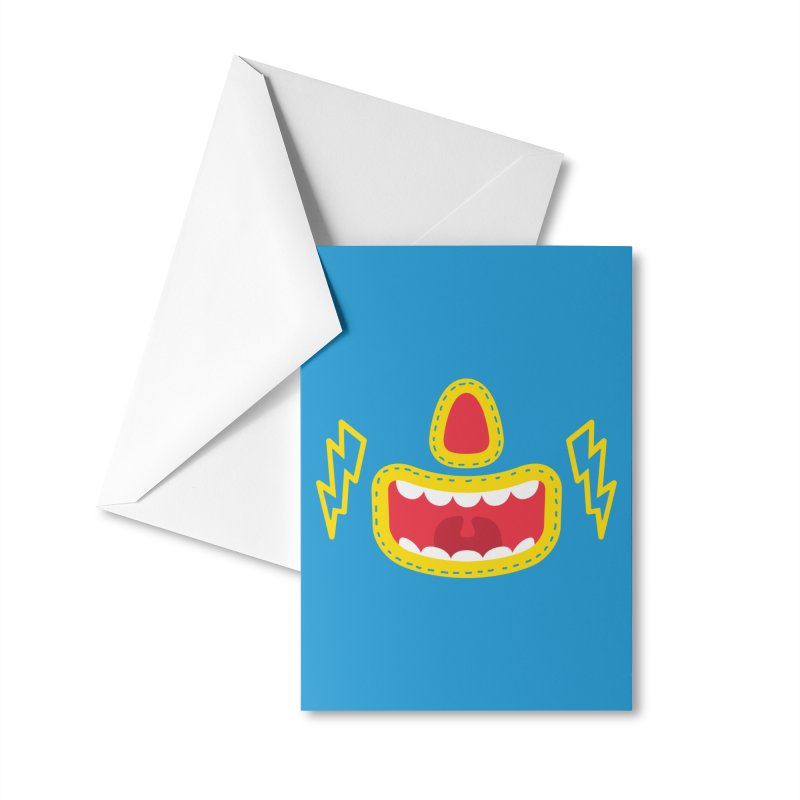 LUCHA Accessories Greeting Card by Rocket Artist Shop