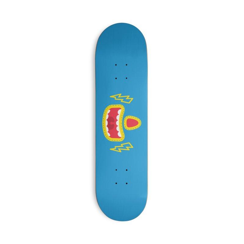 LUCHA Accessories Skateboard by Rocket Artist Shop