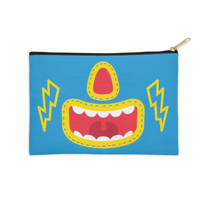 LUCHA Accessories Zip Pouch by Rocket Artist Shop