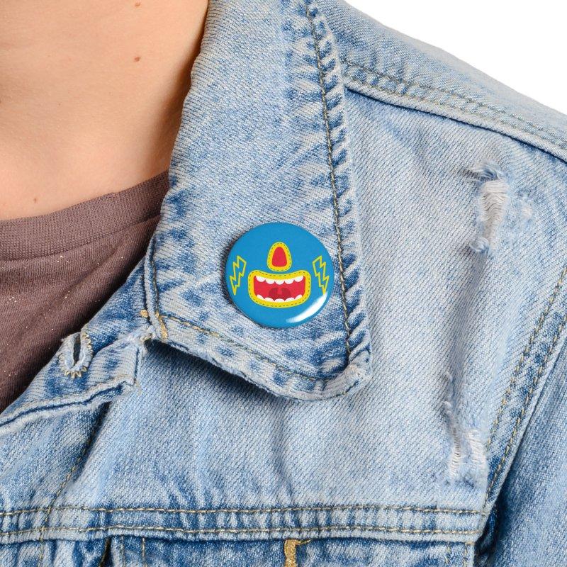 LUCHA Accessories Button by Rocket Artist Shop