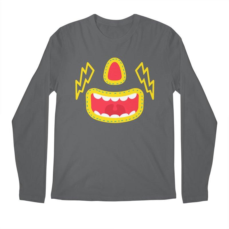 LUCHA Men's Longsleeve T-Shirt by Rocket Artist Shop