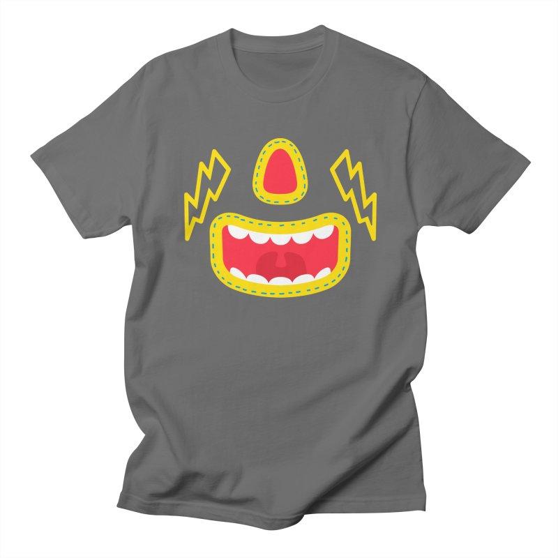 LUCHA Men's T-Shirt by Rocket Artist Shop