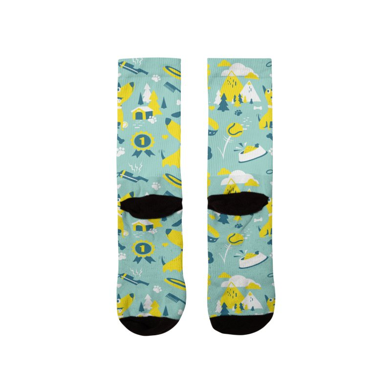 DogLover Men's Socks by Rocket Artist Shop