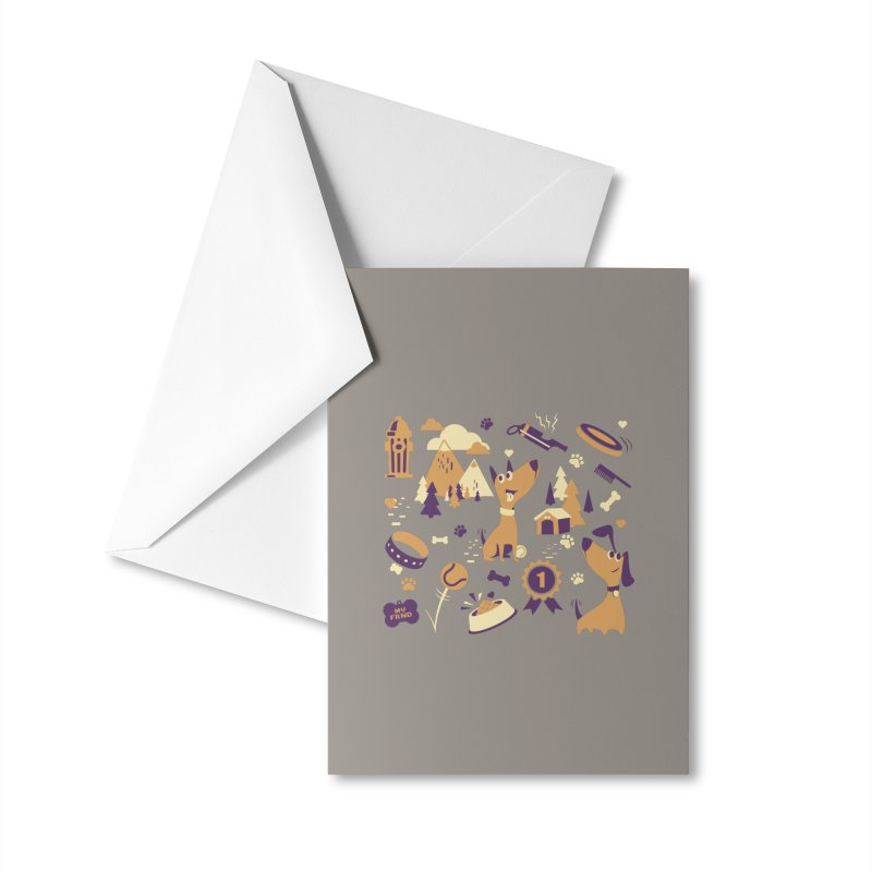 DogLover v2 Accessories Greeting Card by Rocket Artist Shop