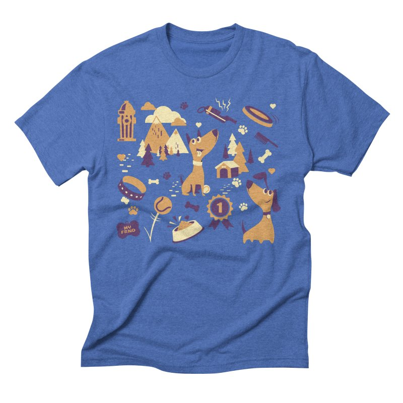 DogLover v2 Men's T-Shirt by Rocket Artist Shop