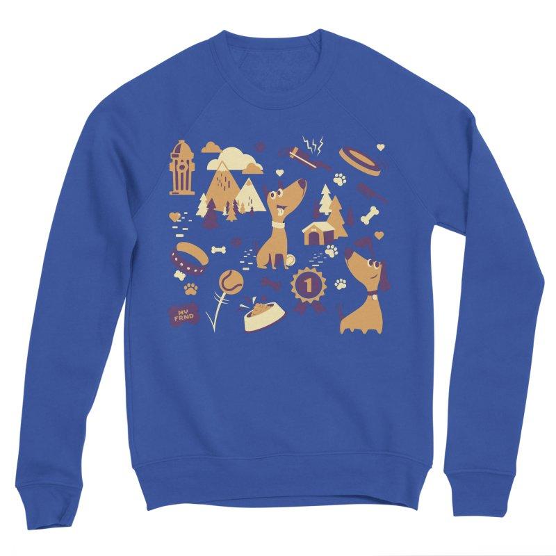 DogLover v2 Men's Sweatshirt by Rocket Artist Shop
